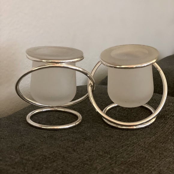 Party Lite connection candle holders